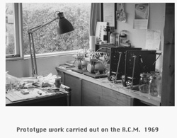 Prototype work carried out on the RCM 1969